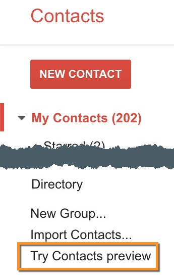 New Google Contacts Coming | Division of Information Technology
