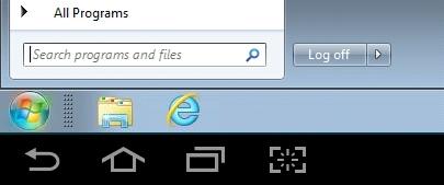 Virtual SINC Site Desktop logging off