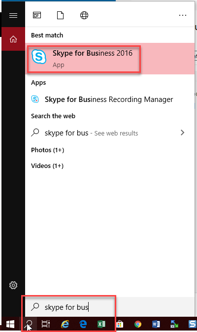 Installing and Finding Skype for Business on your PC or Mac   Division of  Information Technology