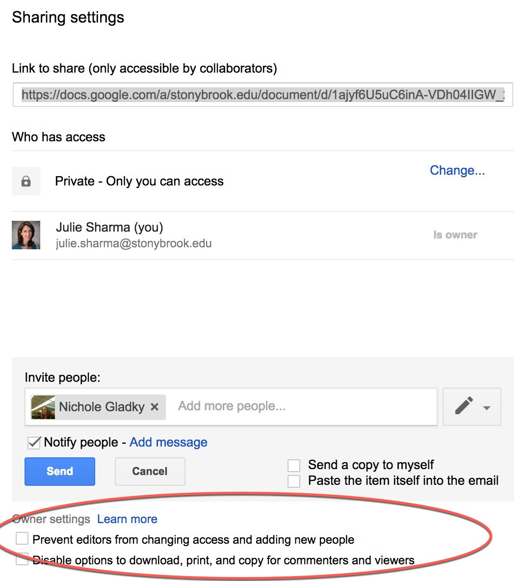 Controlling Google Docs Sharing Permissions Division Of Information Technology