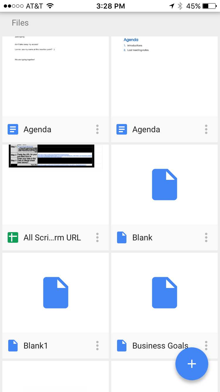 Accessing Google Drive Files Offline on a Mobile Device or