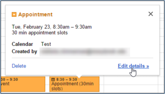 Creating Bookable Appointment Slots In Google Calendar Division Of