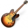This is an image of the GarageBand icon