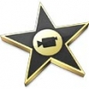 This is an image of the iMovie icon