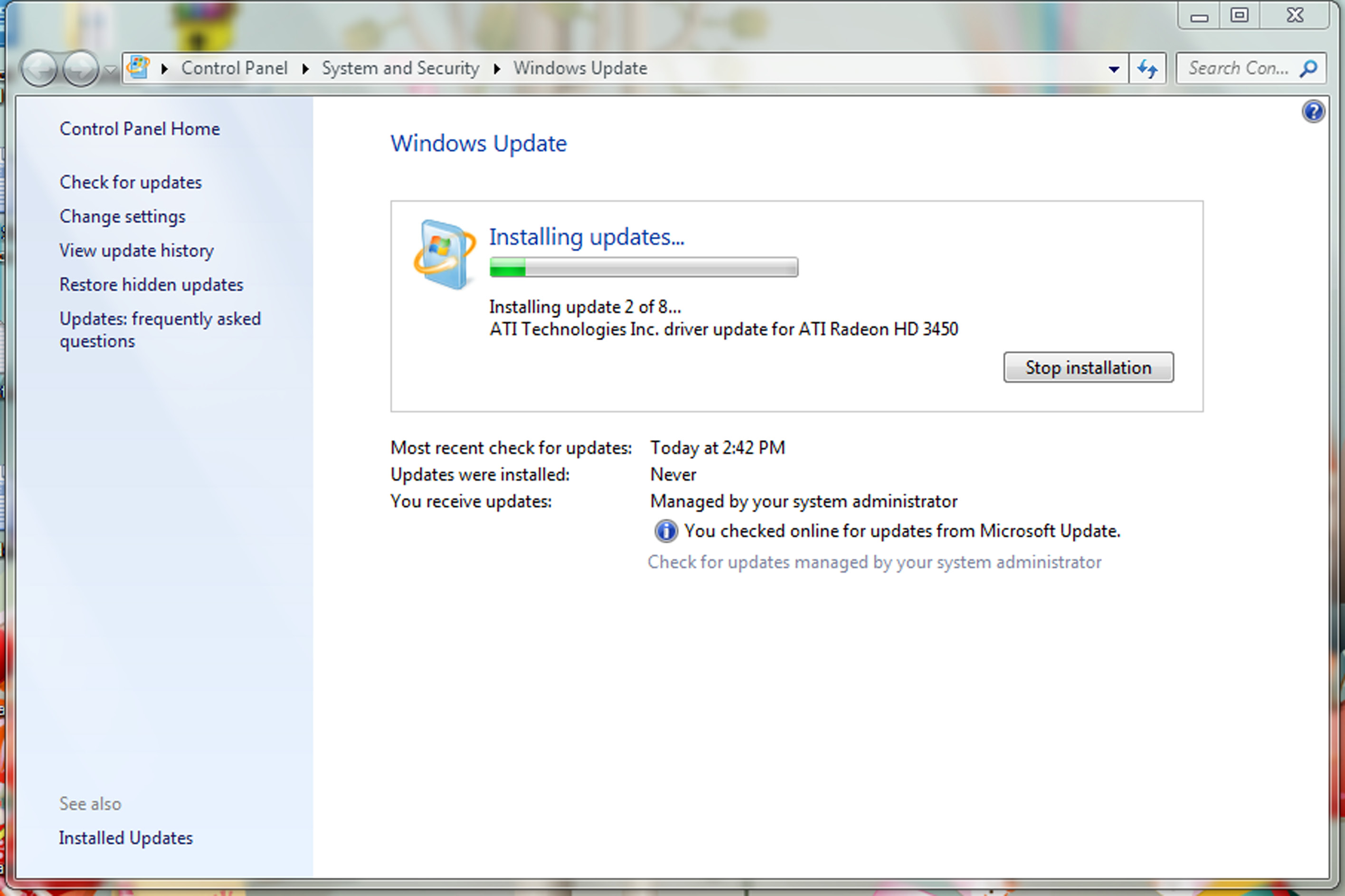 Installing Windows Updates on a Windows 7 Machine | Division of Information Technology
