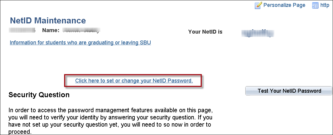 Setting Up Your NetID Security Question and Password for the First Time | Division of ...