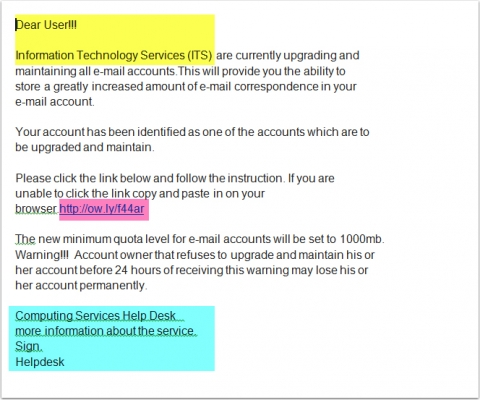 Identifying Email Phishing Attempts | Division of Information ...